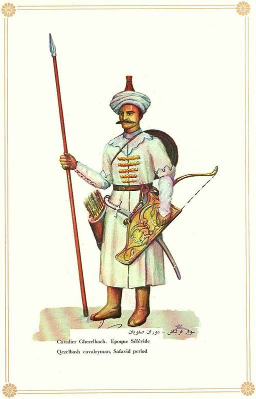 A Kizilbash soldier.