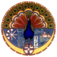 Melek Tavus, the Peacock Angel, is a major figure in the Yazidi religion.