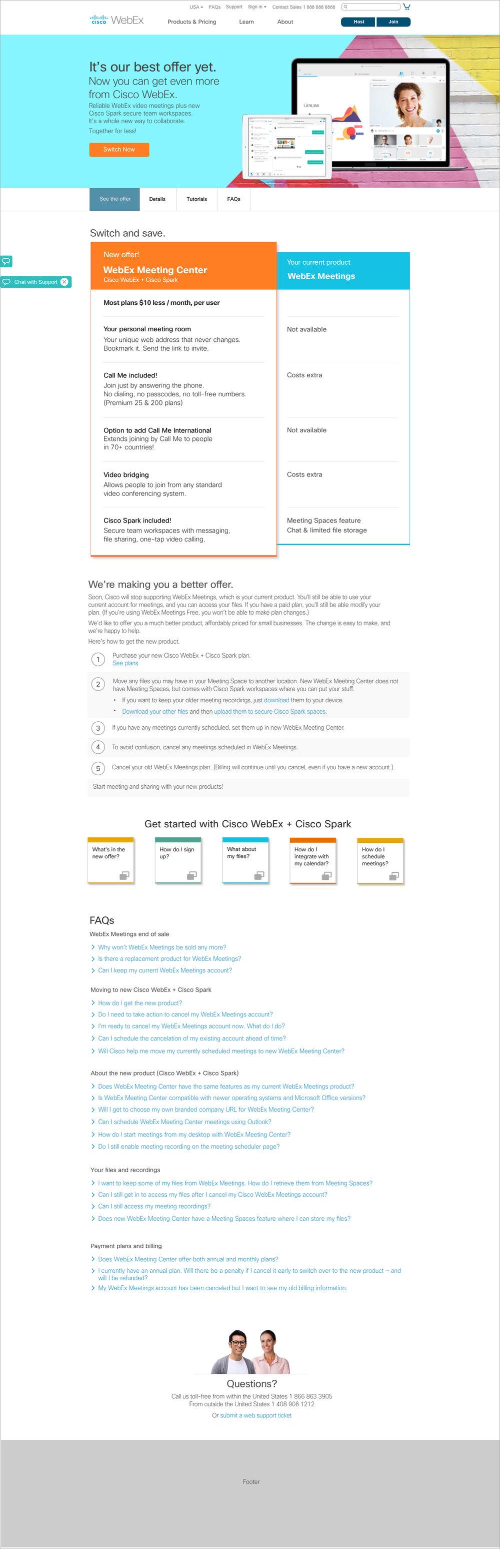 WX11 Landing Page