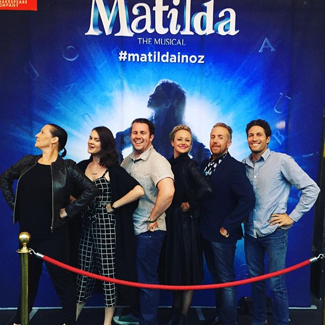 Off to #matildainoz with the @animalsrockmusic crew!! Love a good show tune!