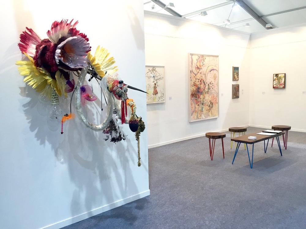 Rina Banerjee at Hosfelt Gallery, California. Image courtesy Hosfelt Gallery.