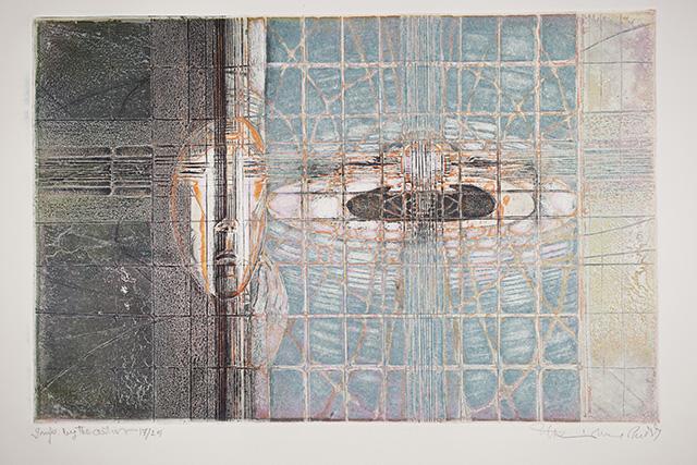 Krishna Reddy, 'Clown Dissolution', 1994. Image courtesy the artist and Experimenter.