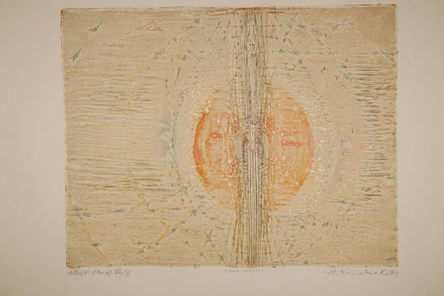Krishna Reddy, 'Dawn Worship', 1973. Image courtesy the artist and Experimenter.