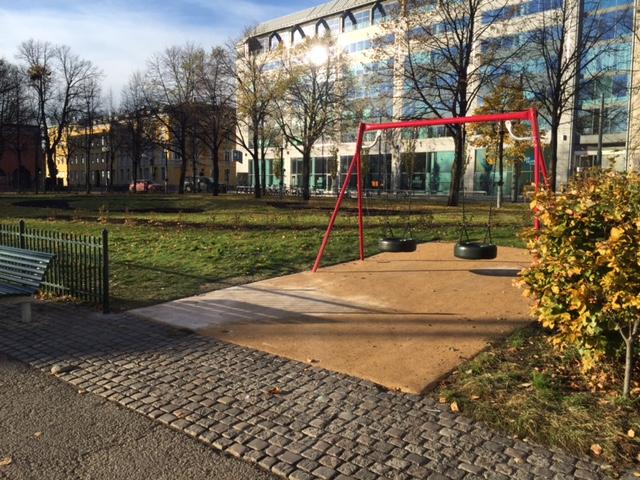 Oslo Byes Vel lurer på hvem som har gjort Plata til park?