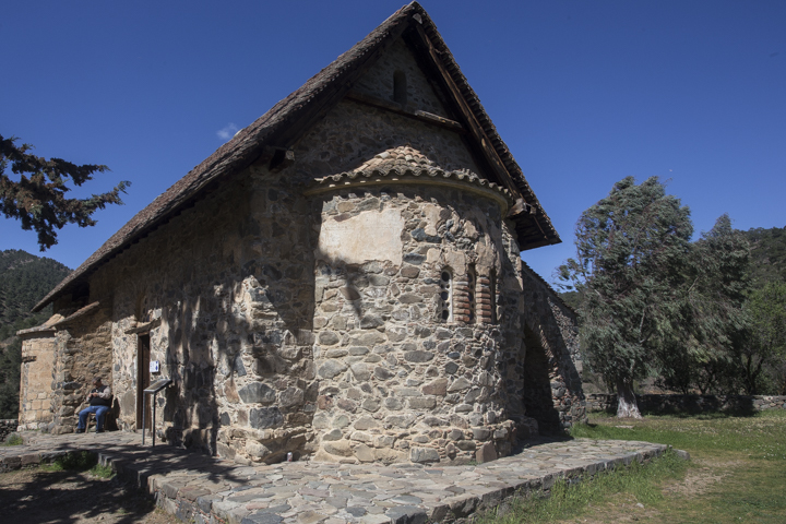 Panagia Asinou from the outside
