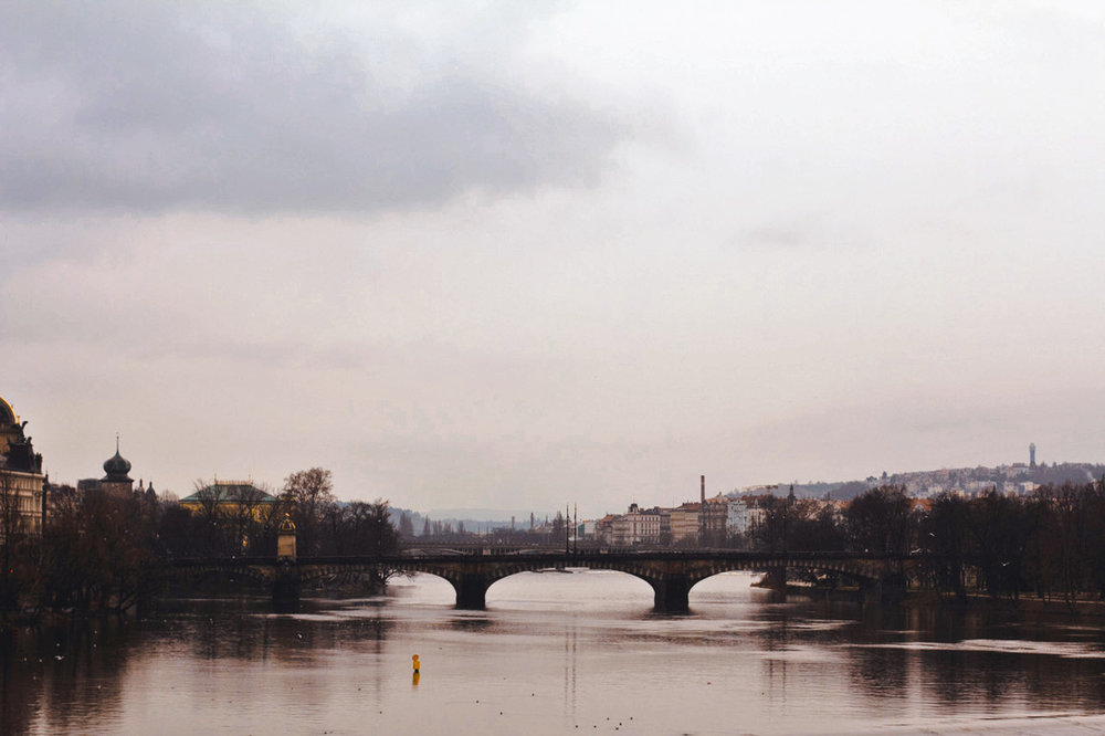 From Charles Bridge in Prague