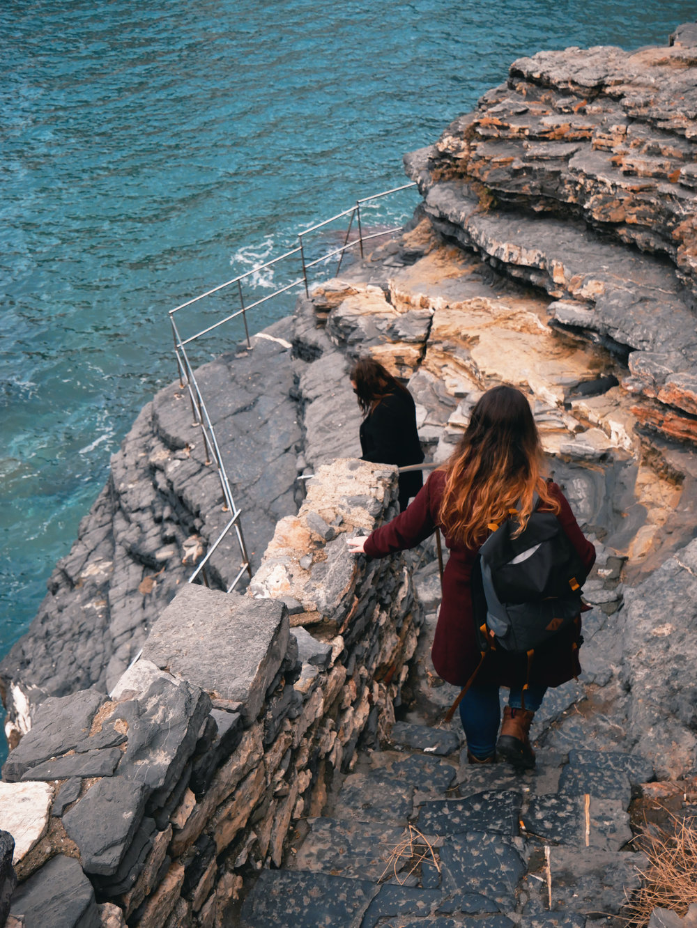 Down to Byron's Grotto, Portovenere