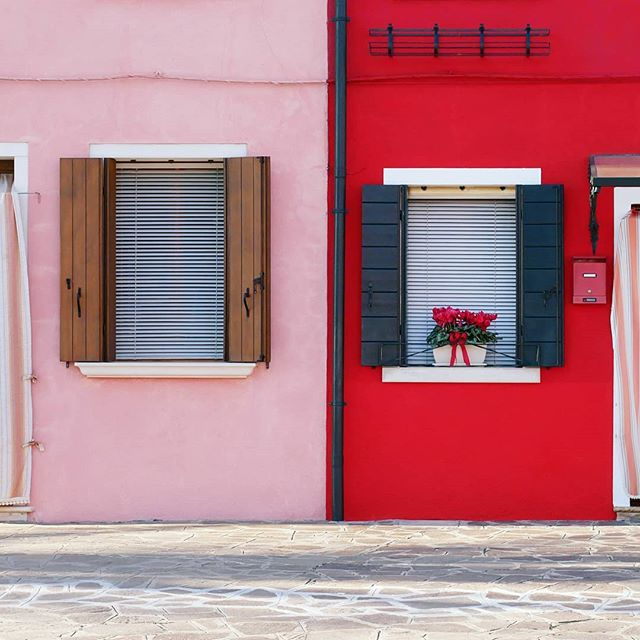 Valentine houses on Burano