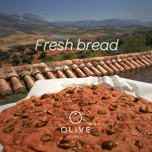 Olive Retreat high protein bread recipe vegan breakfast