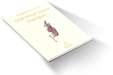 Olive Retreat Mind Detox Dialogue Book
