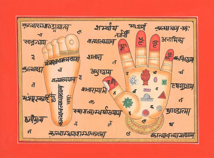 Tantra Acupressure chart