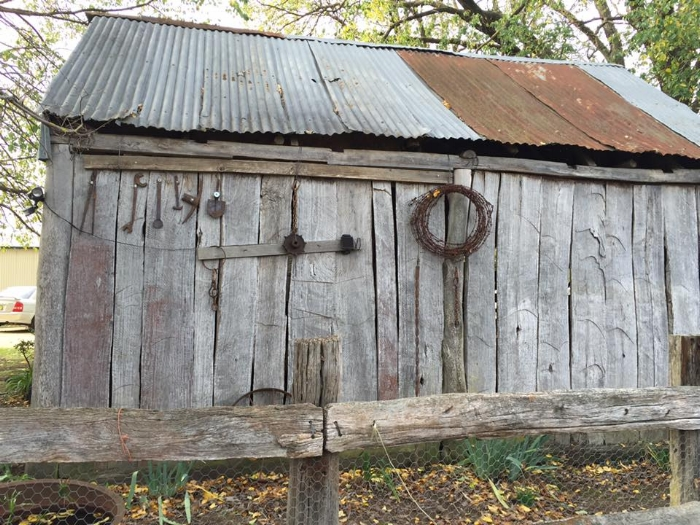 ORIGinal old slab shed