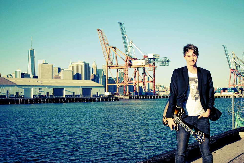 Promo shoot for Ibanez Guitars in New York City.
