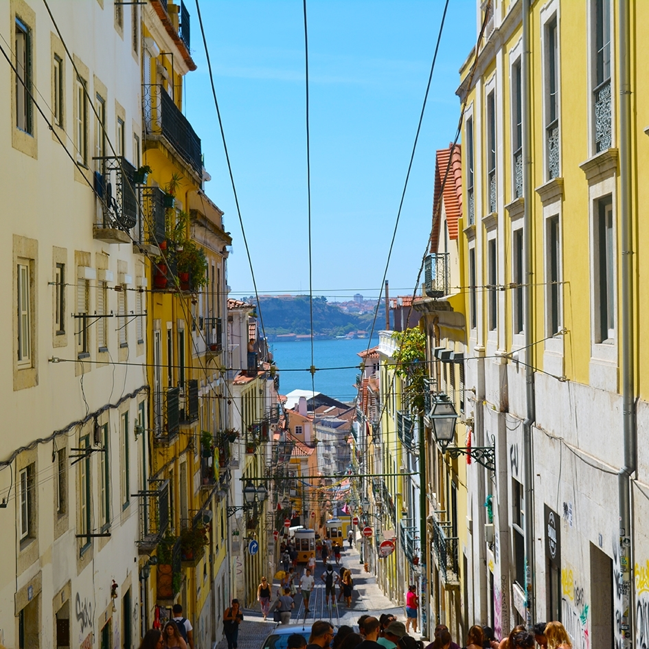 A snapshot of beautiful Lisbon and a        glimpse of what we can draw and paint                                      together.