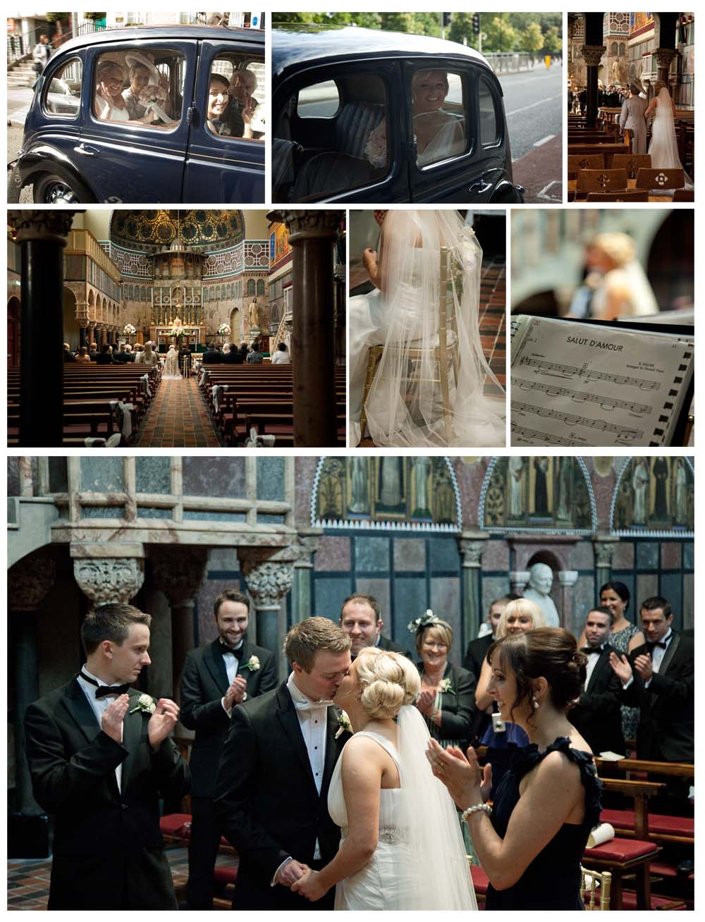 wedding collage photography by Dublin based wedding and commercial photographer http://www.Sylviephotography.com