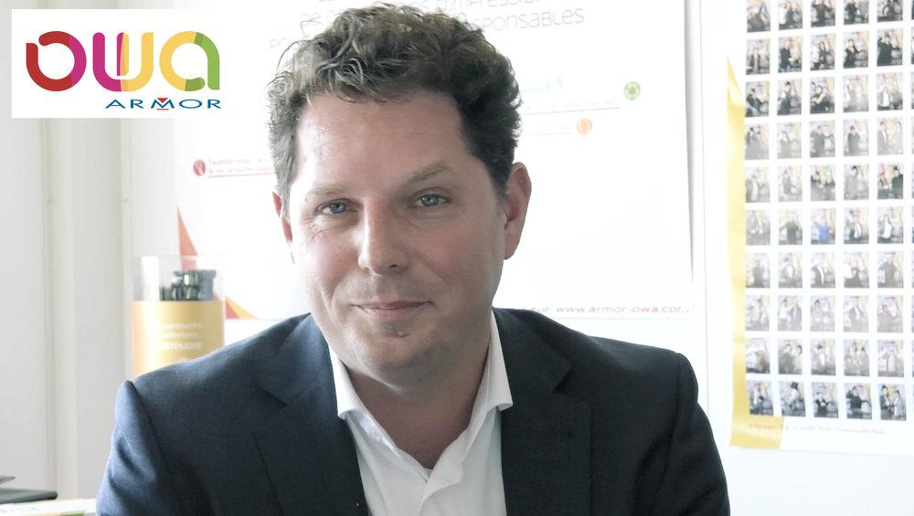 Vidéo corporate avec interview dirigeant