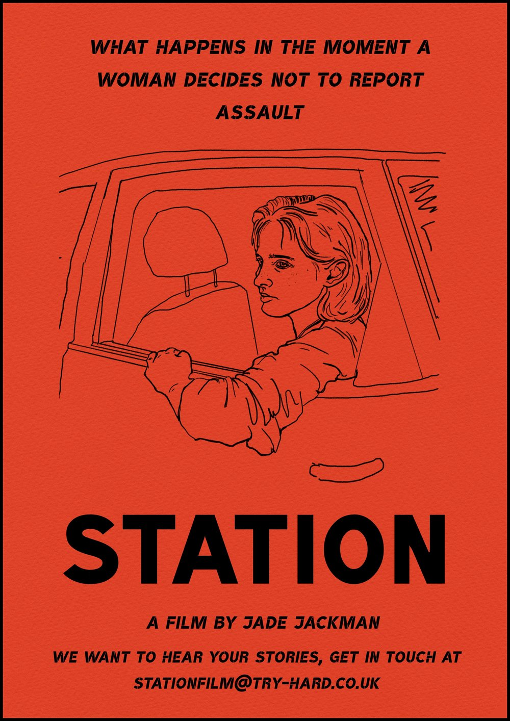 STATION - directed by Jade Jackmana hybrid documentary that explores what happens in the moment a woman decides not to report assault.short film / documentary / 2019In development with Lush Filmsco-production with Black dog (RSA)