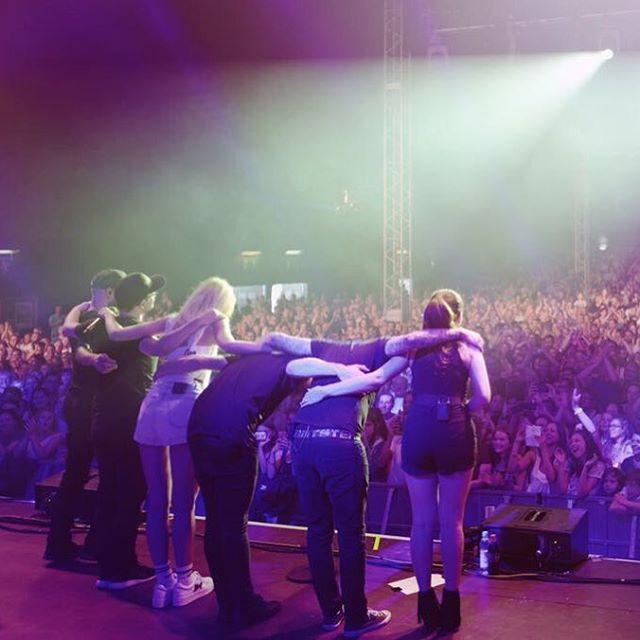 Tollwood!! Das war G R A N D I O S & sooo H E I S S mit Euch 🔥🔥🙏💙 #tollwood #münchen #gpstour17