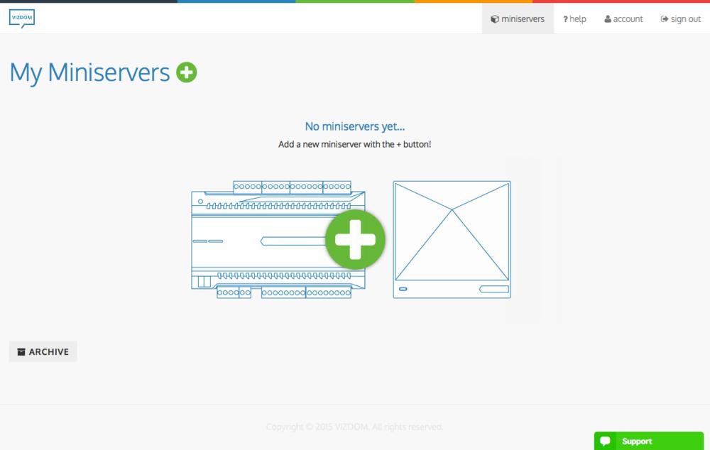 Miniserver list