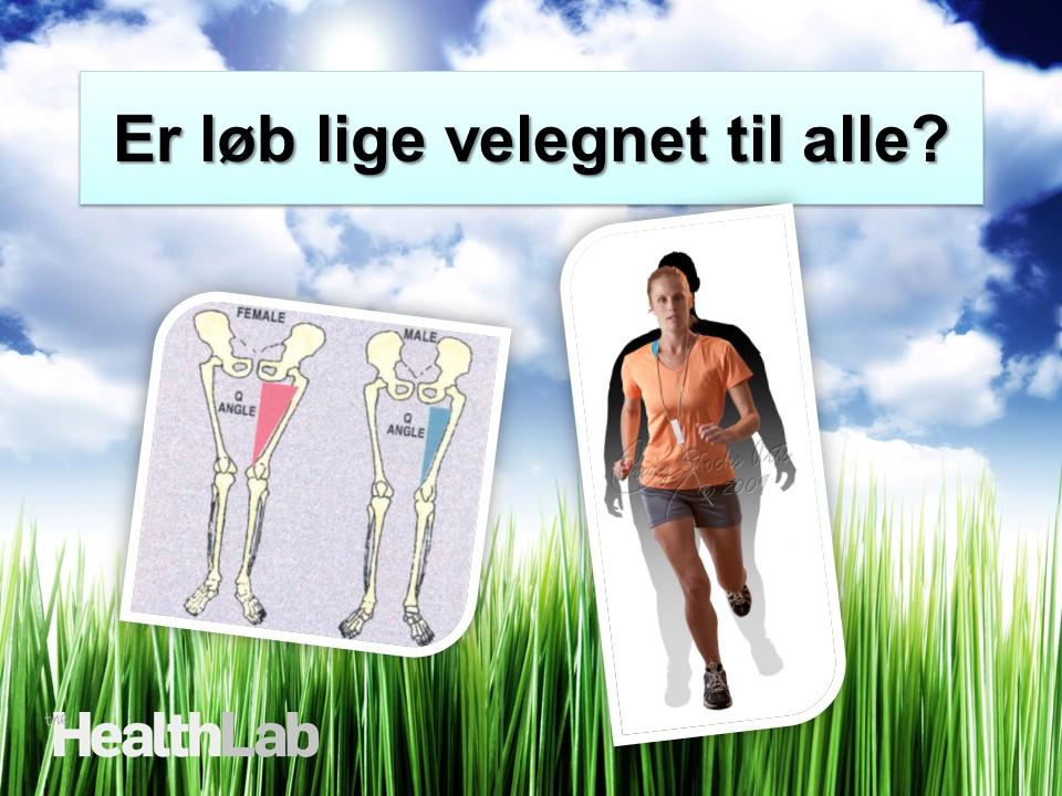 Løb og kropsbygning