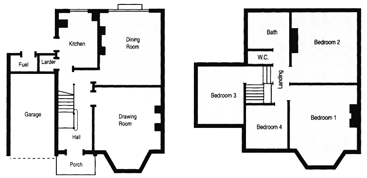 Cambridge Architects on arts and crafts bungalow floor plans