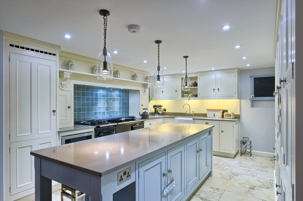 Kitchen island counter