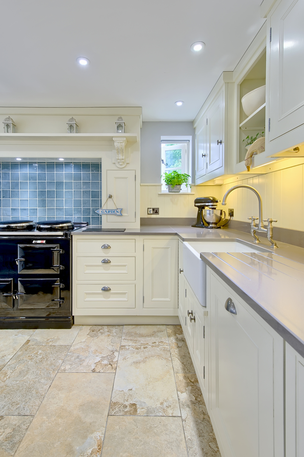 Kitchen sink of a house redesign by Harvey Norman Architects Cambridge