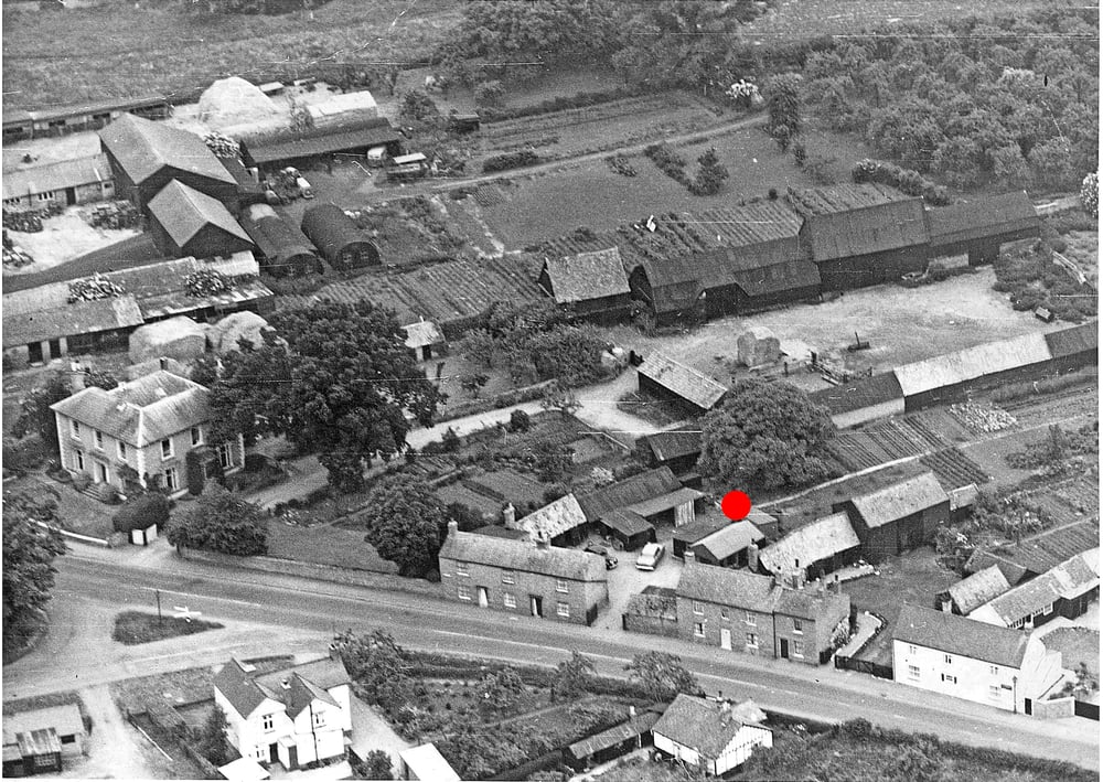 The photo below shows how the site would have looked in the 1960s.