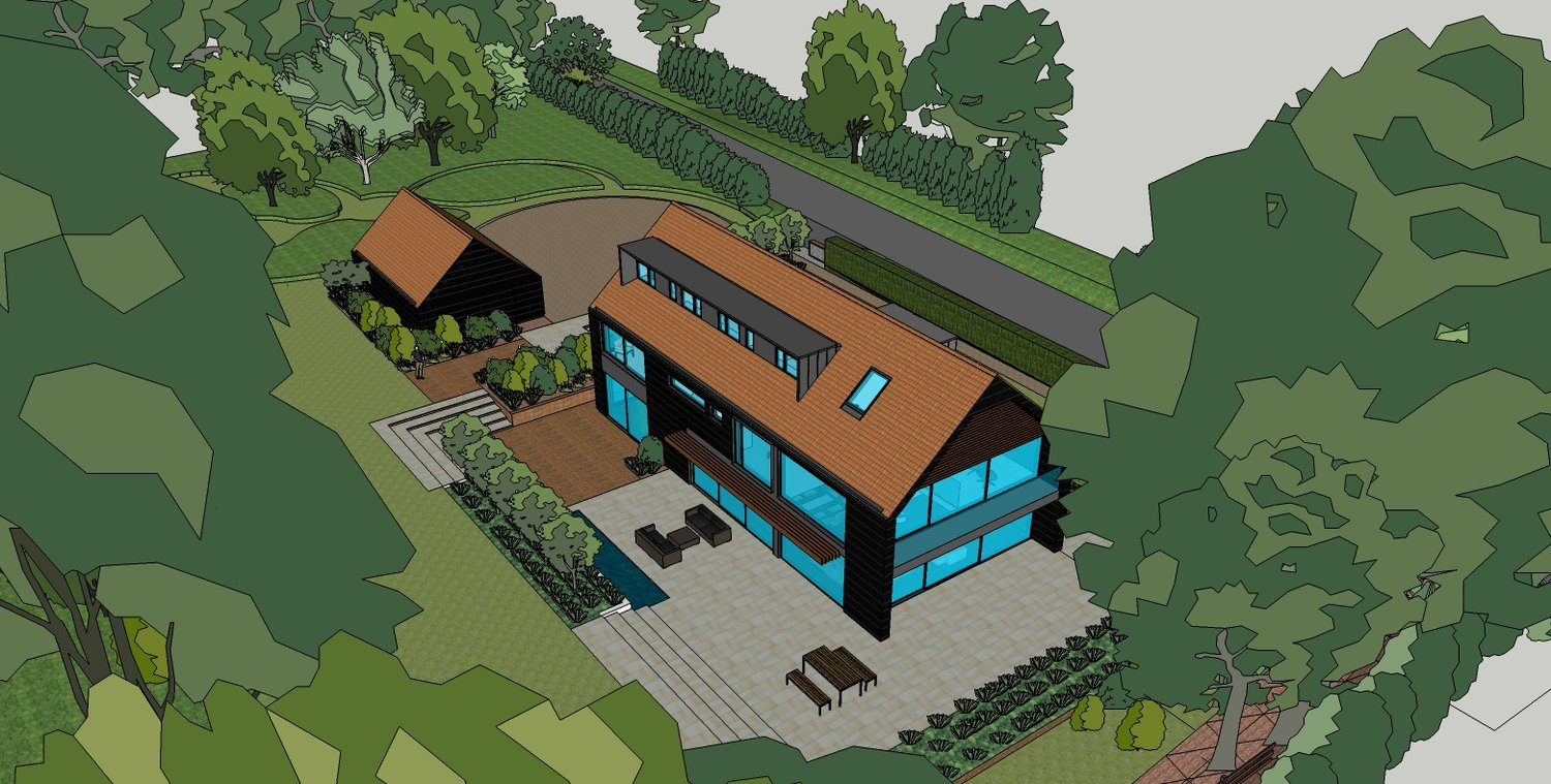 Planning Permission obtained for contemporary house in Cambridge ...