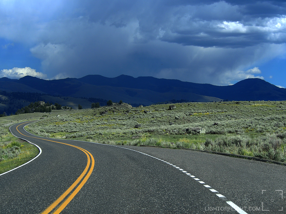 Yellowstone Rains
