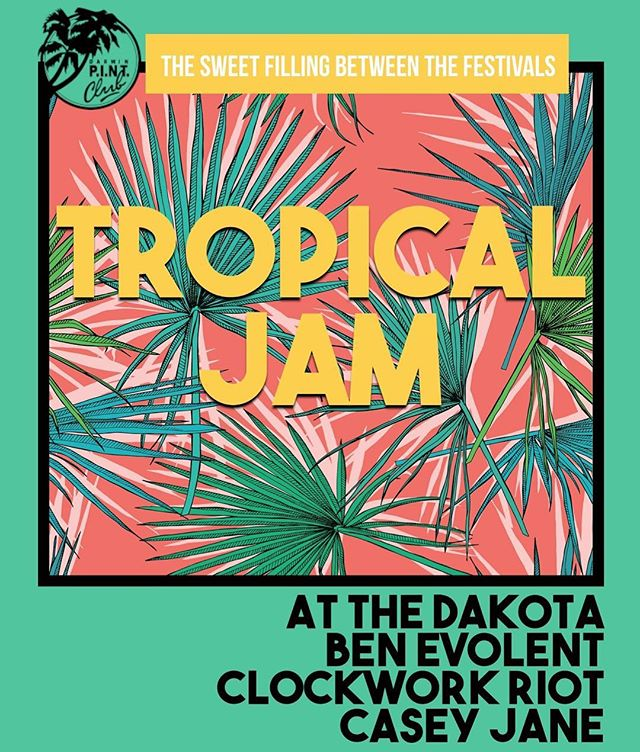 Keeeeeeeeen for Tropical Jam! It's on July 28! And the way this year is going that's around the corner ❤️💜💚💛