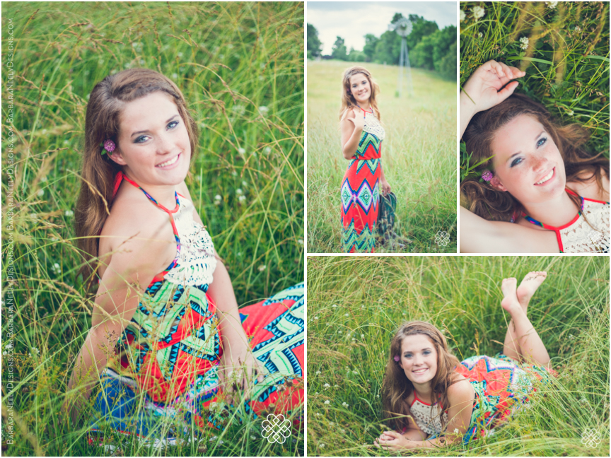Country senior girl photo session