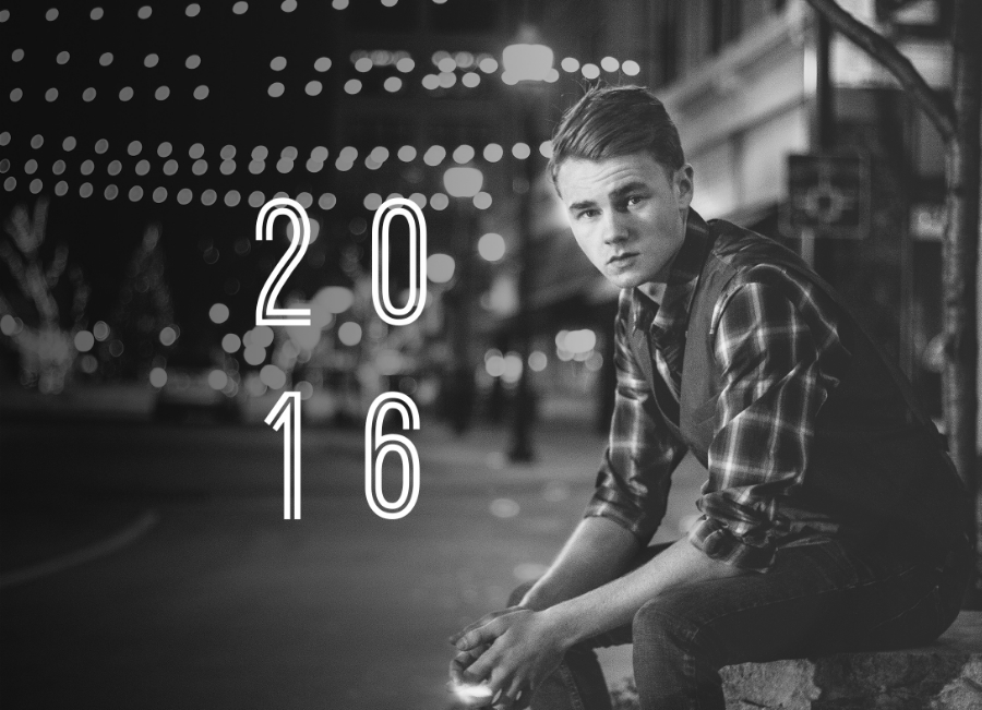 Senior Guy Portraits in Downtown Springfield Missouri