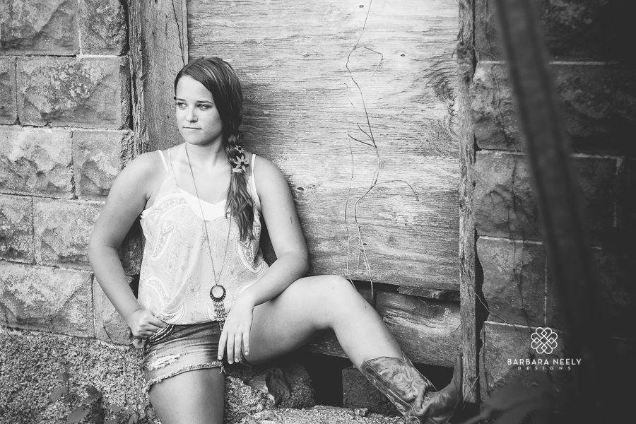 Small town Missouri senior girl pictures