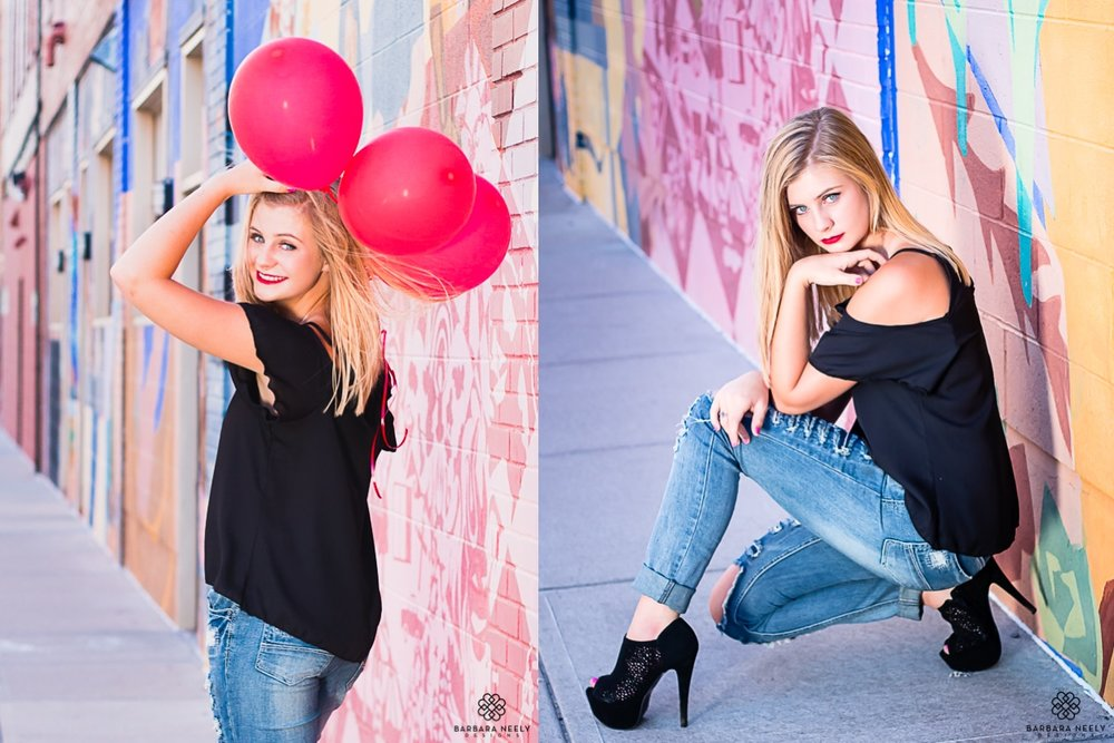 senior pictures with balloons in downtown Springfield Missouri.jpg