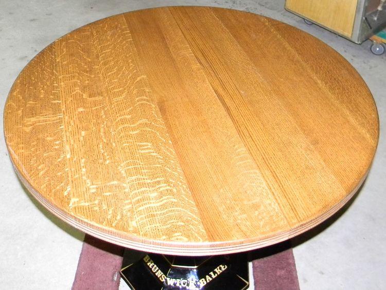 1890s brunswick balke collender cast iron bar table oak top brunswick balke collender cast iron bar table oak watchthetrailerfo