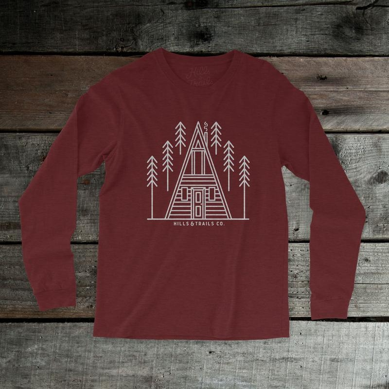 Aframe Cabin Unisex Long Sleeve