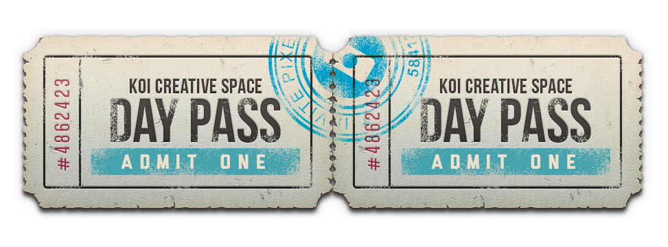KOI Creative Space Day Pass