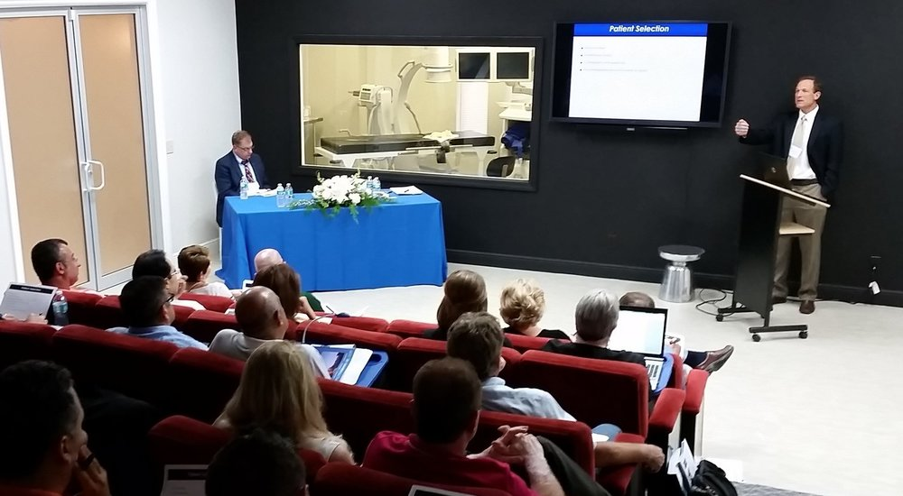 Dr. Joseph Ruane lectures at RMTI