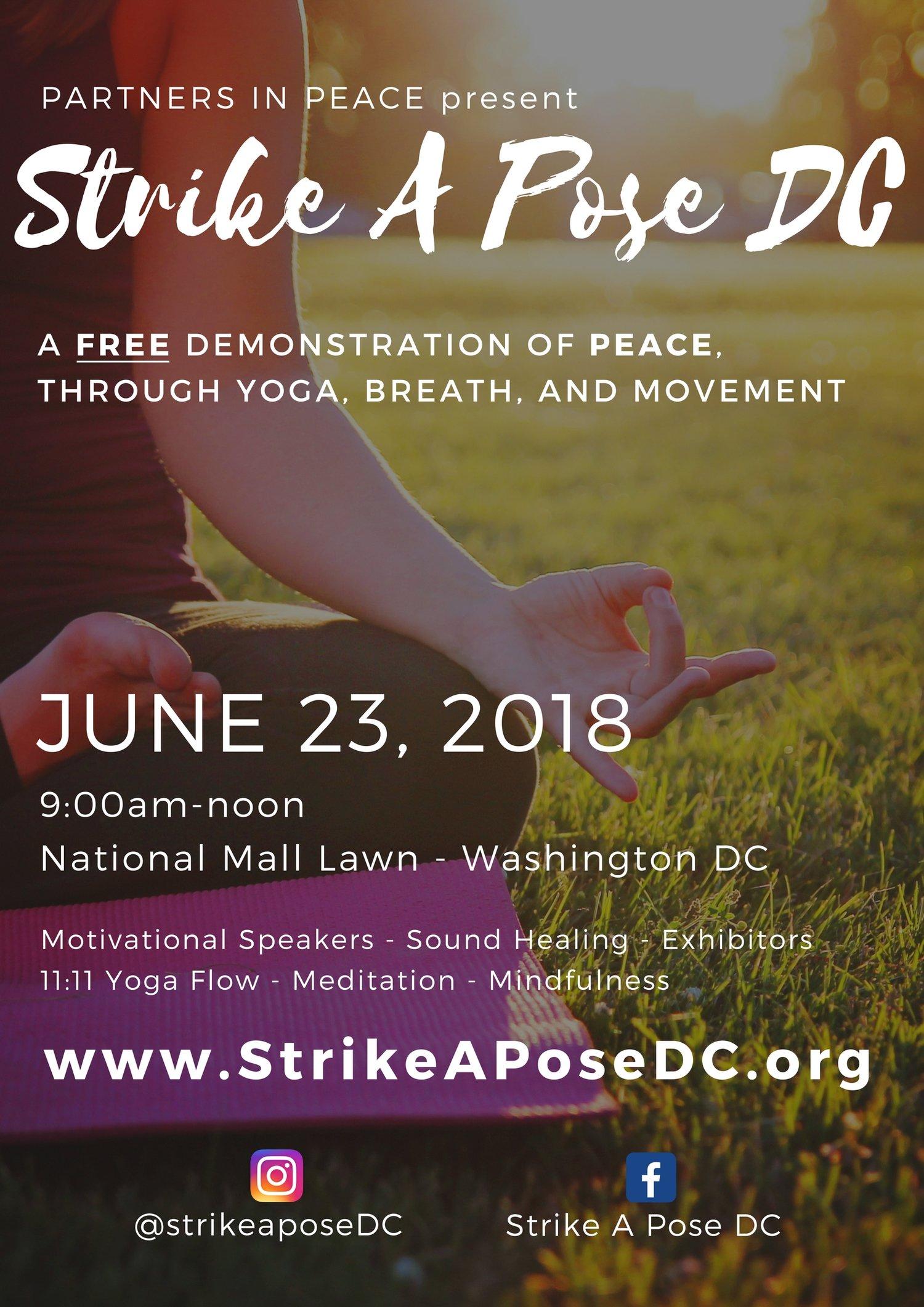 FREE Demo of Peace through Yoga, Breath, & Movement — YogaNoMa