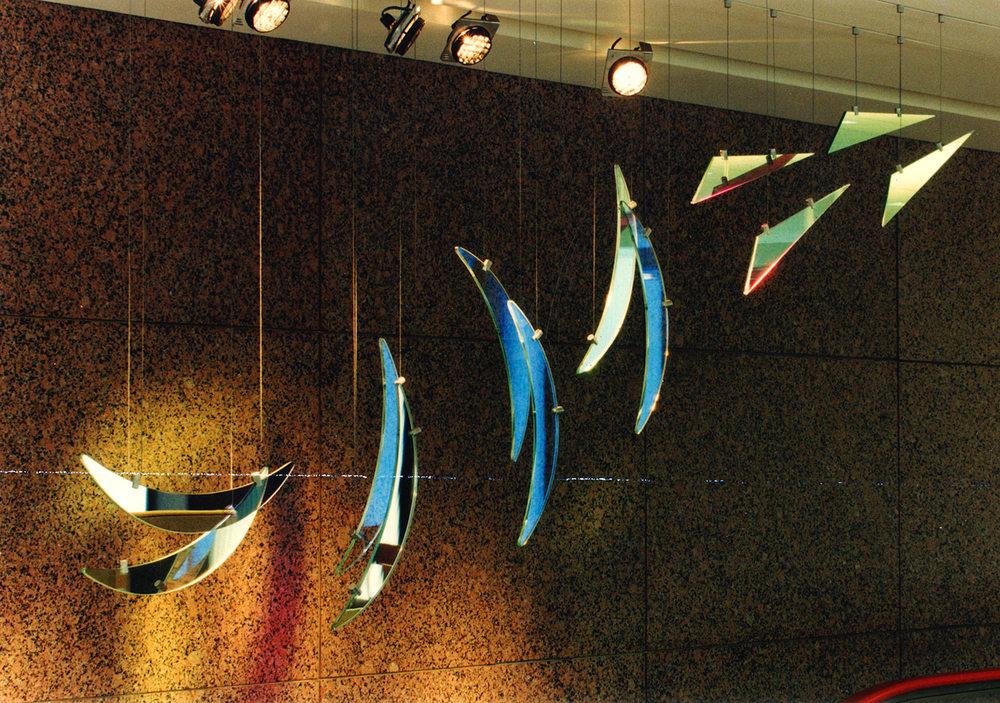 Rainbow Harp - Detail