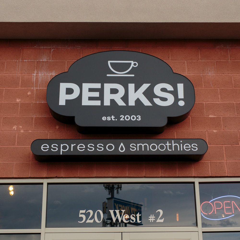 Perks Espresso and Smoothies Washington Utah Location