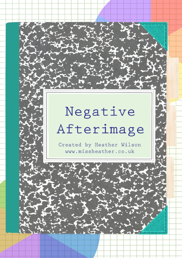Negative Afterimage Comic Cover