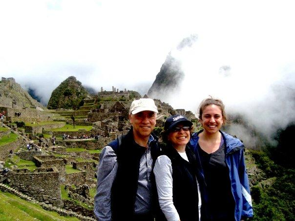 Long-time Nomads at Machu Picchu