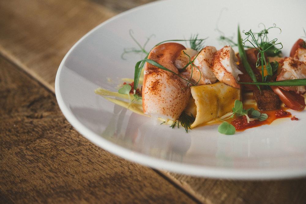"""<strong>Evening menu..Menu du soir</strong><a href=""""/menu-soir"""">Find out more..voir menu »<a>"""