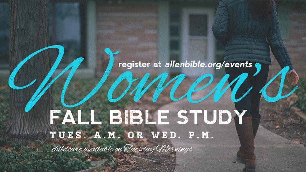 allen bible womens bible study