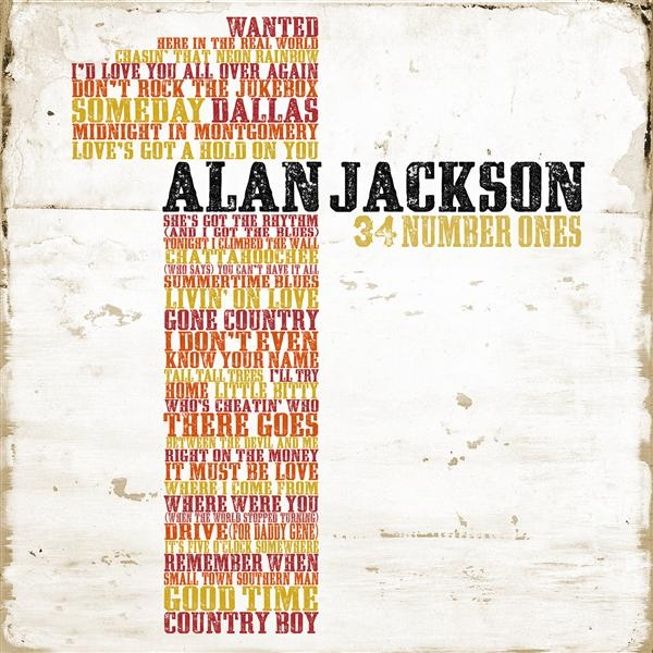 Alan Jackson - 34 Number Ones