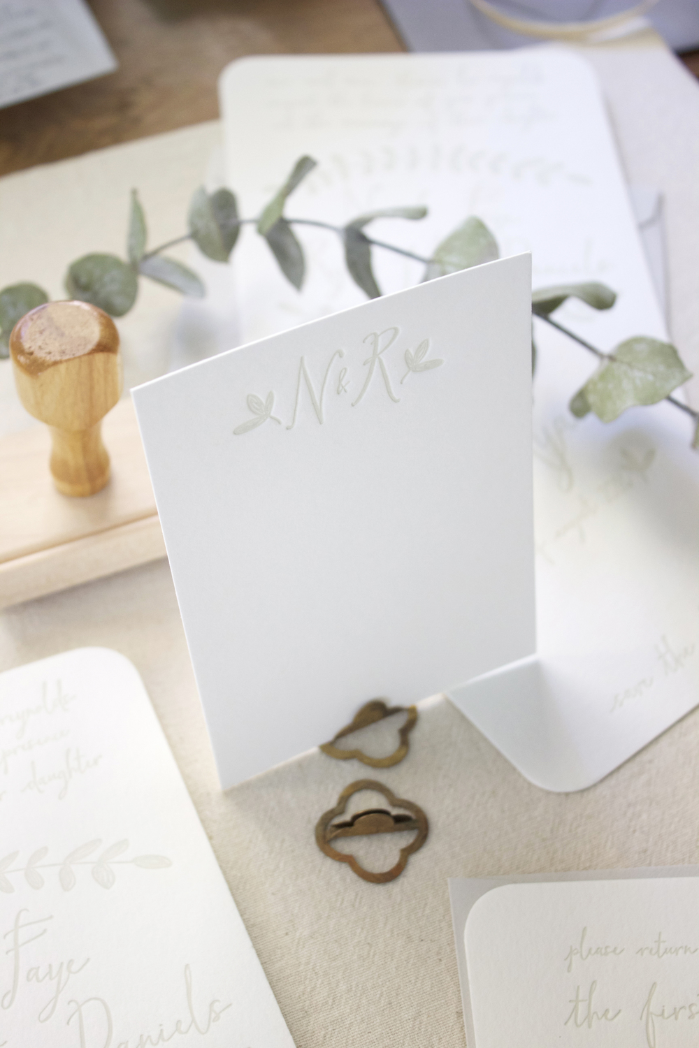 The Keeping Room | Baton Rouge Wedding Stationery — THE LITTLE BLUE ...