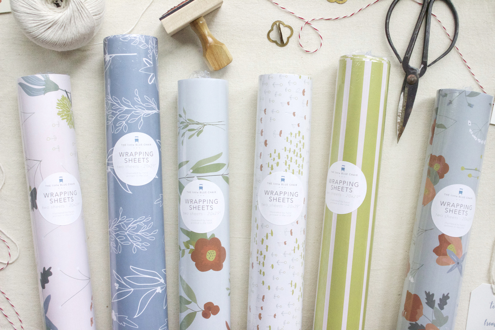 GIFT WRAP | two sheets per roll, 20x29""