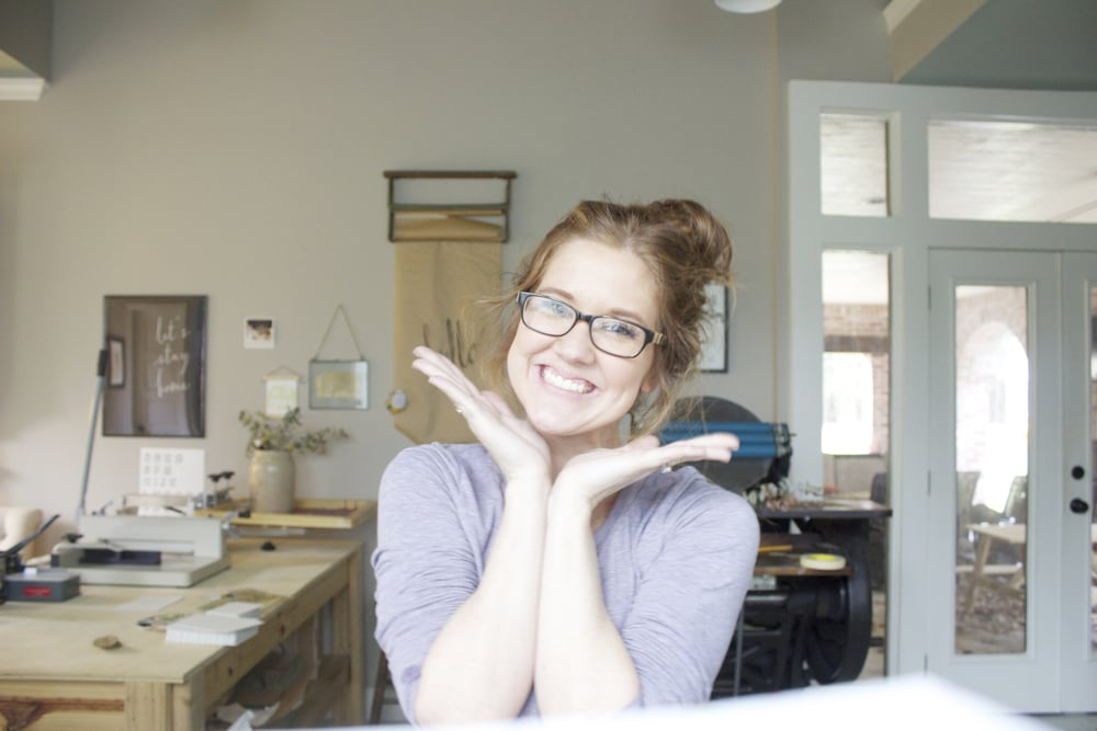 My victory smile after my three day long, year-end studio clean out! Cleansing, y'all.